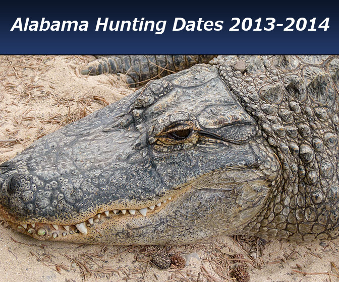 Alabama Hunting Season Dates 2013-2014